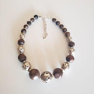 Brighton Chunky Beaded Necklace